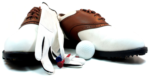 Golf Shoes and Gloves