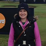 Lizzie Mill - getting better at golf for over 4 years