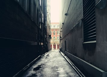 A blind alley